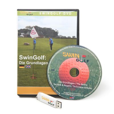 Video Swingolf Grundlagen, auf CD oder USB-Stick