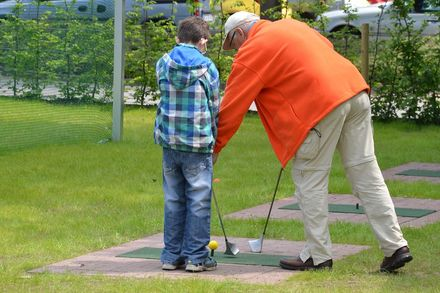 SwinGolf Deutschland Praltische Trainings